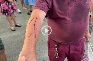 Video: un gremialista atacó a un jubilado en Olivos