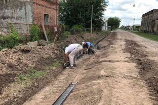 San Jerónimo del Sauce: nuevas obras de mejora en calle Santa Rosa