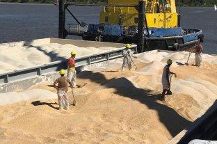 Se cargaron más de 4800 toneladas de cereales en el Puerto de Santa Fe