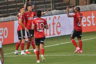 River derrotó a Platense por la mínima