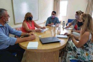 Calvo se reunió con las nuevas autoridades de la Regional III de Educación