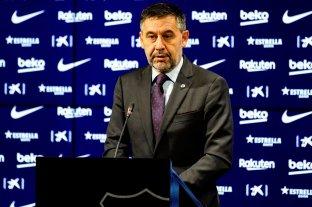 Detuvieron al ex presidente del Barcelona, Josep María Bartomeu