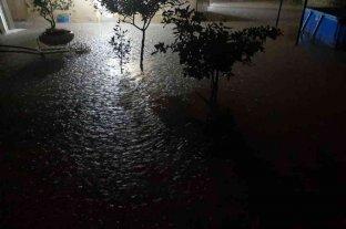Fuerte temporal en San Juan dejó inundaciones en diferentes puntos de la provincia
