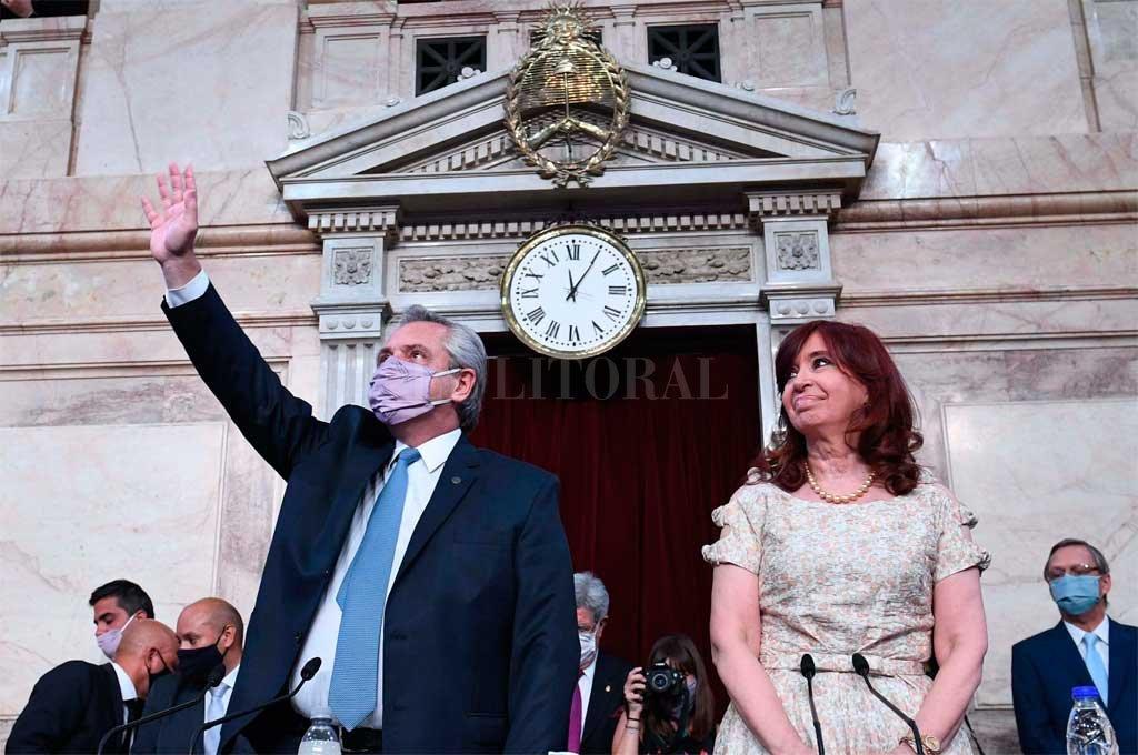 Fernández llamó a la unidad cargando contra la oposición -  -