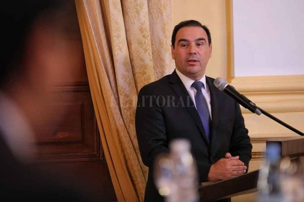 Gustavo Valdés, gobernador de Córdoba Crédito: Gentileza