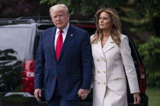 Donald Trump y su esposa Melania se vacunaron en secreto contra el coronavirus en enero