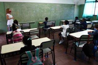 Esta semana, trece provincias vuelven a clases presenciales