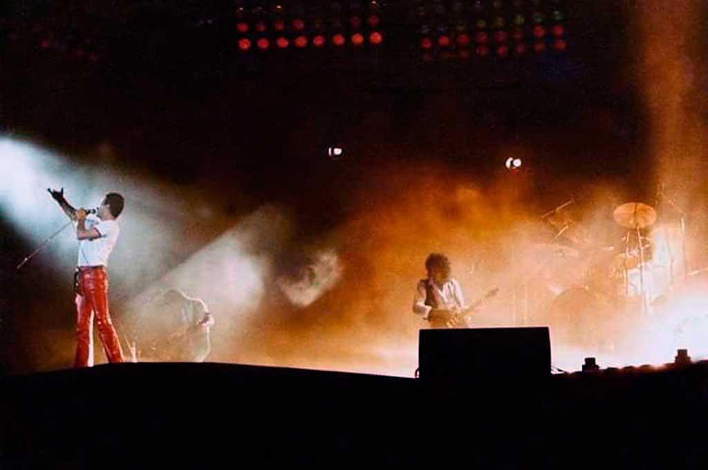 La banda británica desembarcó en Rosario e hizo delirar a miles de fanáticos Crédito: Gentileza