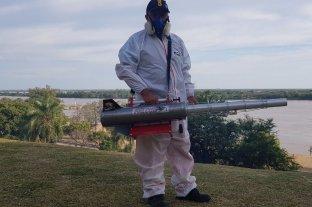 Paraná: fumigan con nuevo equipamiento tras la invasión de mosquitos