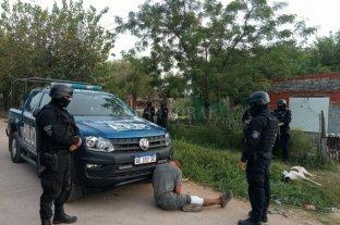 Dos detenidos tras seis allanamientos en Rosario