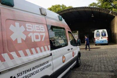 Qué pasa con las ambulancias del Sies en Rosario