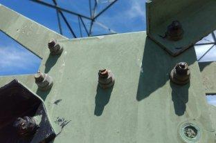 Alerta de nuevos daños en torres de alta tensión en la línea Santo Tomé - Puerto de Santa Fe