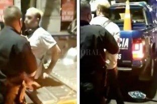 Vecinos rosarinos detuvieron a un conocido motochorro