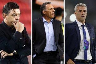 Gallardo, Russo y Crespo, nominados a mejor entrenador del 2020