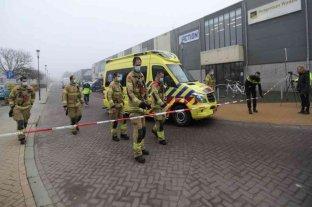 Holanda: una fuerte explosión se registró cerca del centro de diagnóstico de Covid-19