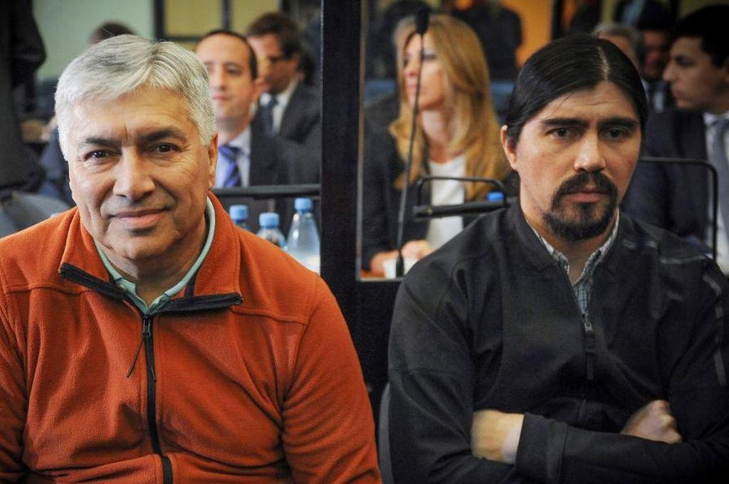 Martín y Lázaro Báez. Crédito: Gentileza