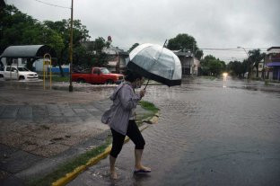Alerta meteorológico por tormentas para Santa Fe -