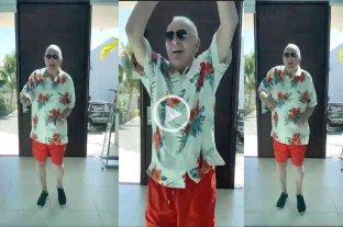 Video: Anthony Hopkins sorprendió a sus seguidores bailando al ritmo de la salsa