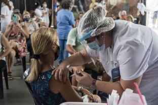 Se inició la vacunación en docentes en Rosario