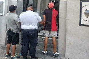 """Dos """"trapitos"""" detenidos en 9 de Julio y Avda. Gral. López"""