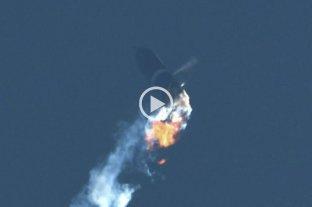 Video: SpaceX probó con éxito el cohete Starship SN10, pero también explotó -  -