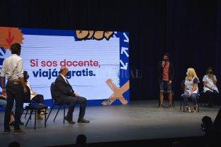 """Perotti: """"El Boleto Educativo Gratuito es un impulso para volver a las aulas"""""""