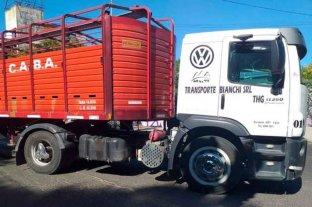 Protesta en el barrio porteño de Mataderos por la muerte de un niño atropellado por un camión