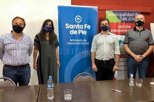 Presentaron el programa Santa Fe Más en San Jorge
