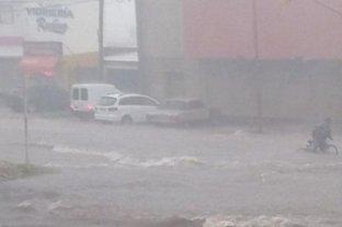 Video: anegamientos por el diluvio en Paraná
