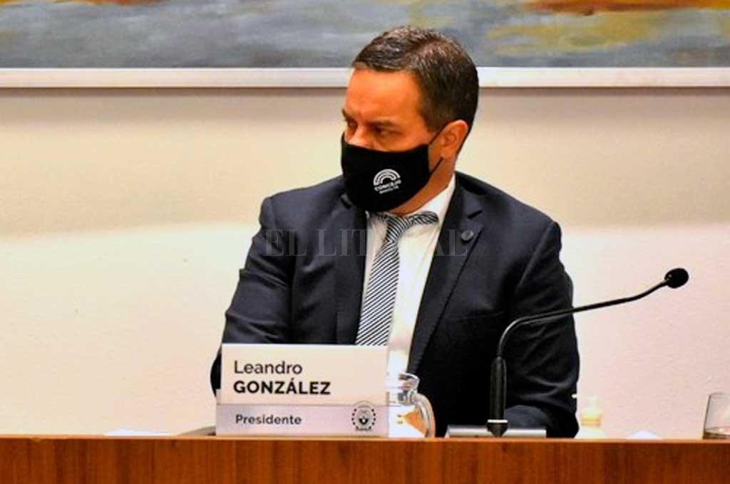 Leandro González. Crédito: Gentileza