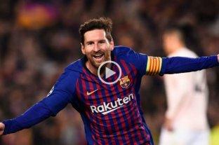 El nuevo video viral de Lionel Messi en  Barcelona -  -