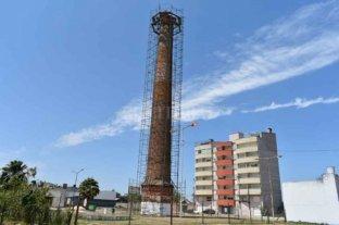 Restauraron la chimenea que es patrimonio histórico de Corrientes