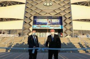 """Alberto Fernández inauguró en Santiago del Estero el Estadio """"Madre de Ciudades"""""""