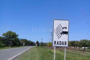 Desde el 15 de marzo, entran en vigencia nuevos radares en los accesos a Esperanza