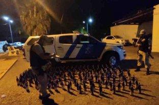 Secuestraron 240 botellas de fernet en Corrientes