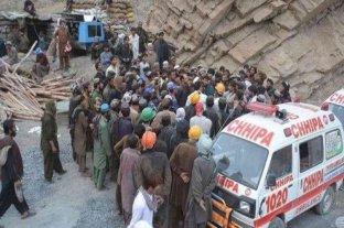 Afganistán: al menos 14 trabajadores murieron al producirse avalancha en una mina de oro
