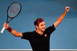 Roger Federer, listo para volver a jugar