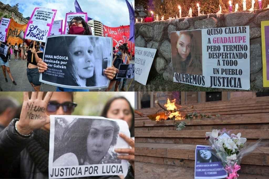 Diversas marchas se realizaron a lo largo del 2020 pidiendo justicia debido a la alta cantidad de femicidios. Crédito: Gentileza