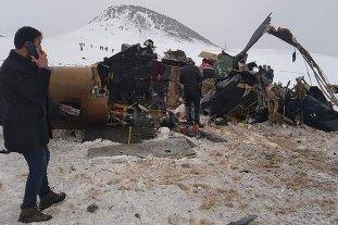 Se estrelló un helicóptero en Turquía y murieron once soldados