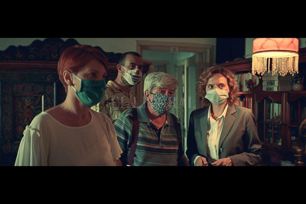 """Se puede decir que fue un Festival de """"resistencia"""" ante la adversidad Covid-19. Muchas de la películas fueron filmadas ya durante la pandemia, recurriendo a todo tipo de medidas higiénicas de prevención.  Crédito: Gentileza producción"""