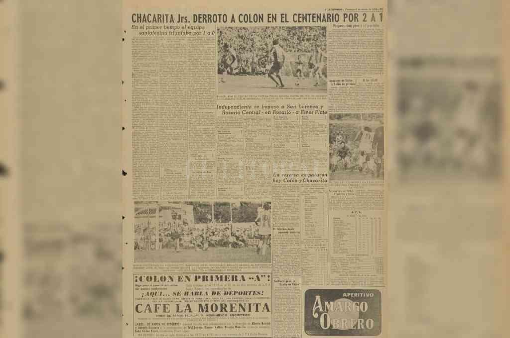 La cobertura del diario en ese domingo 6 de marzo de 1966. Crédito: El Litoral