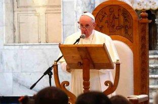 """El Papa pidió que """"las mujeres sean respetadas y defendidas"""" en Irak"""