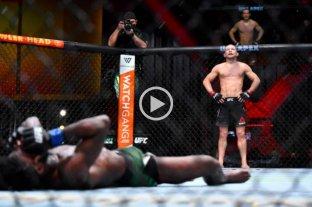 Video: el rodillazo de un luchador por el que fue descalificado y despojado del cinturón de UFC