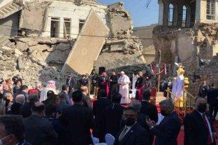 El papa Francisco visitó ciudades devastadas por el EI en Irak