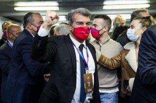 Joan Laporta es el nuevo presidente de Barcelona