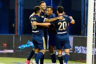Boca goleó a Vélez por 7 a 1 en Liniers por la Copa de la Liga Profesional