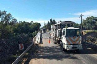 Vialidad Nacional avanza con obras de mantenimiento en la Ruta Nacional Nº 11