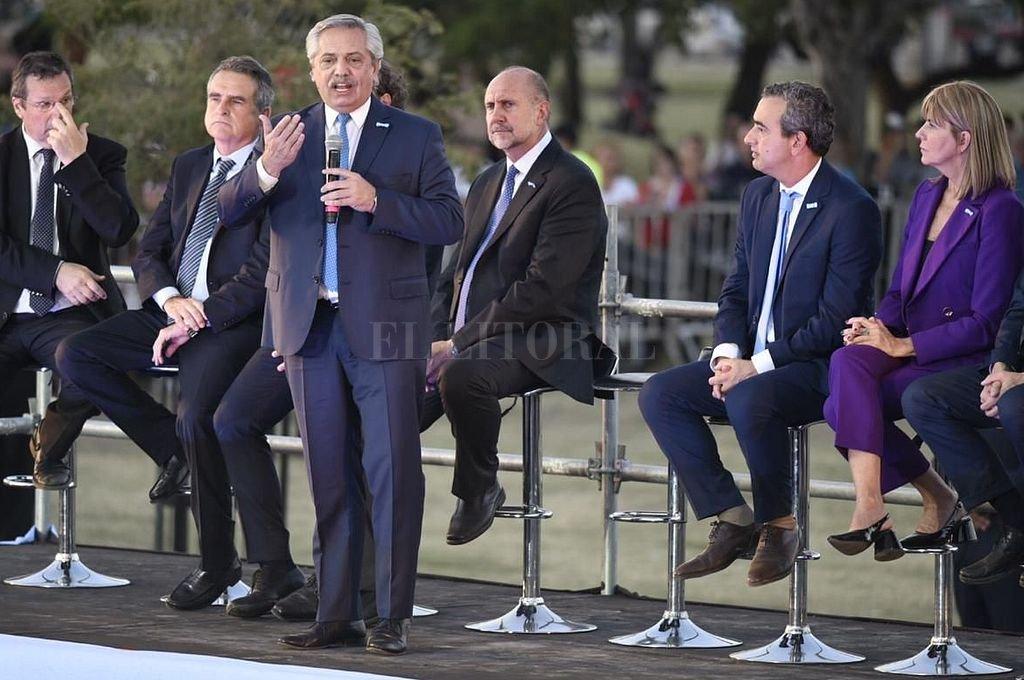 El presidente estará el jueves en Rosario -  -