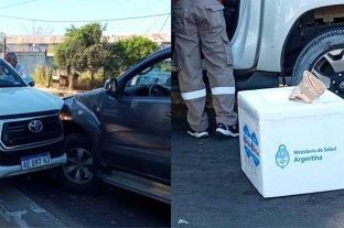 El ministro de Salud de Corrientes se descompensó y chocó