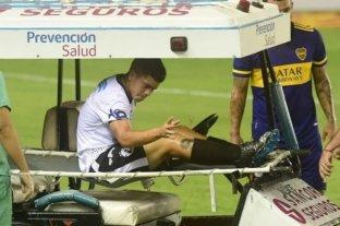 El Jugador de Claypole sufrió la rotura de los ligamentos de la rodilla